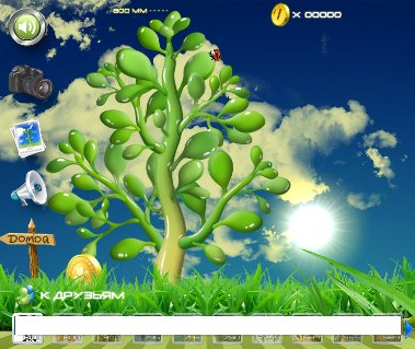 игра денежное дерево на моей странице в одноклассниках