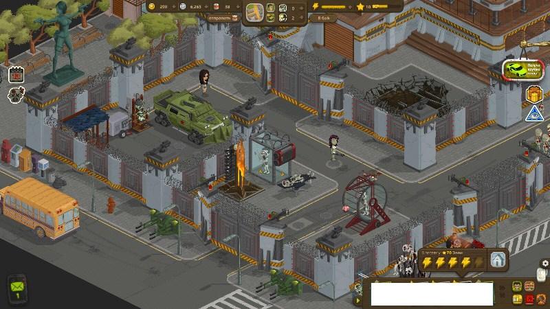игры город зомби 3